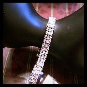 Jewelry - 1/4 Carat Natural Diamond WaveLink Tennis Bracelet